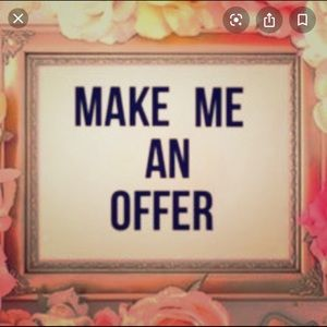 Make me an offer I can't resist!